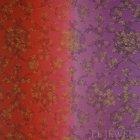 ≪国内在庫品≫輸入ファブリック<b>【イギリス・DESIGNERS GUILD】</b>madhuri Sukumala Magenta 赤紫 137cm巾×1m巻