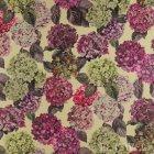 ≪国内在庫品≫輸入ファブリック<b>【イギリス・DESIGNERS GUILD】</b>madhuri Sudara Lino 紫陽花 花柄  Magenta 137cm巾×1m巻