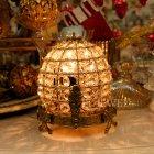 <b>【即納可!】【chehoma】</B>ベルギー製 アンティーク調リボンテーブルライト 1灯(W0×H380mm)