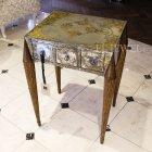 <b>【即納可!】【Jansen〜ジャンセン】</B>オランダ製 サイドテーブル「EGLOMISED」(W56×H75cm)