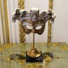 <b>【即納可!】【オランダ-BAROQUE】</b> アンティーク調 マスクのオブジェ(H30cm)