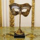 <b>【即納可!】【オランダ-BAROQUE】</b> アンティーク調 マスクのオブジェ(H22cm)