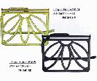 <b>【即納可!】</b>ペーパーホルダー PALM アンティークゴールド(W150×D105×H80mm)