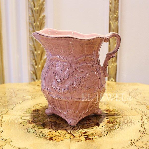 【即納可!】【フラワーベース】「Sophia」花器 ピンク Mサイズ(W11×D14.5×H14.5cm)