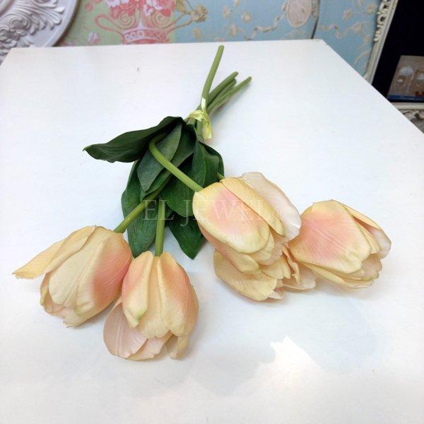 【即納可!】【artificial flower】「チューリップ」ピンク系 1本(花径6×花丈7×L48cm)