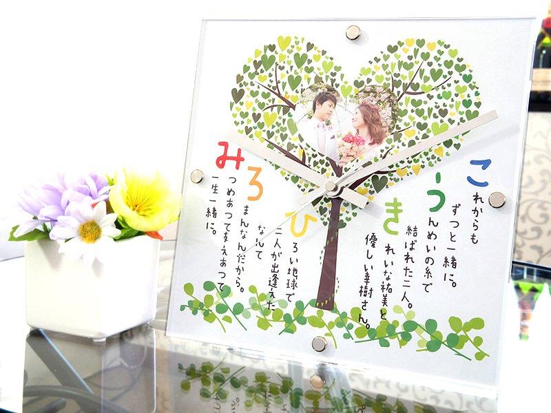 結婚祝いプレゼントやカップル記念日・誕生日プレゼントに彼氏彼女へ!ラバーズクロック