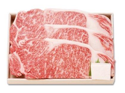 神戸菊水黒毛和牛サーロインステーキ用200g×3枚[簡易包装]
