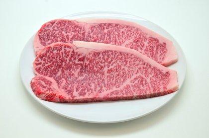 [夏休み肉祭り]神戸菊水黒毛和牛サーロインステーキ200g×1枚[簡易包装][オリジナル焼肉のタレ3P付]