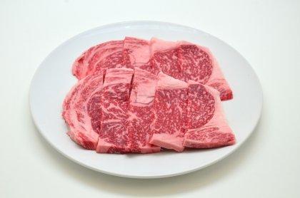 [夏休み肉祭り]神戸菊水黒毛和牛ロース焼肉用250g[簡易包装] [オリジナル焼肉のタレ3P付]