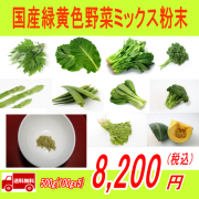 <img class='new_mark_img1' src='https://img.shop-pro.jp/img/new/icons24.gif' style='border:none;display:inline;margin:0px;padding:0px;width:auto;' />国産100%緑黄色野菜ミックス粉末500g(100gx5)