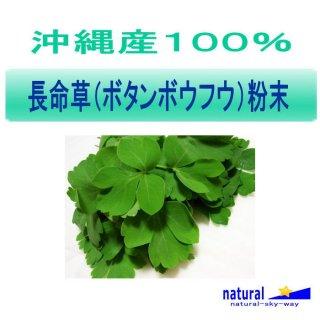 沖縄産100%長命草(ボタンボウフウ)粉末パウダー