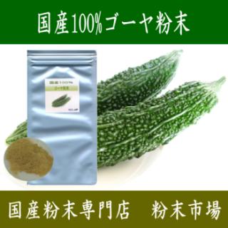 国産100%ゴーヤ粉末パウダー1kg(100gx10)【宅配便送料無料】