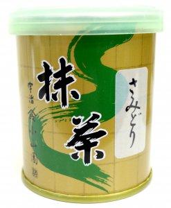 抹茶 さみどり  30g    (山政小山園製)