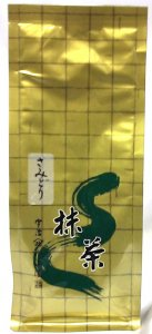 抹茶 さみどり  100g    (山政小山園製)