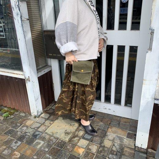 キャンバスARMYランチBOX BAG(小)-1