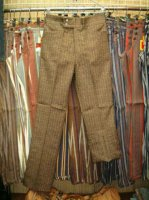 リーバイス LEVI'S STA-PREST SLACKS LEVI'S LOT 625-7923 BROWN FLARES
