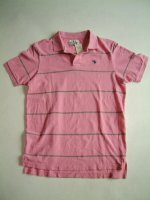 アバクロンビー&フィッチ Abercrombie&Fitch PINK Made In Peru 100%COTTON
