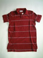 アバクロンビー&フィッチ Abercrombie&Fitch RED Made In Peru 100%COTTON