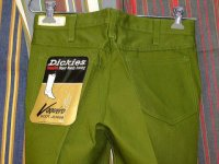 ディッキーズ DICKIES LOT998E VAQUERO BOOT JEANS SHAPE/SET BOOT-CUT GREEN