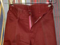 ディッキーズ DICKIES LOT998T SHAPE/SET DARKRED 50%POLYESTER 50%COTTON