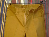 ディッキーズ DICKIES LOT998N SHAPE/SET MUSTARD 50%POLYESTER 50%COTTON