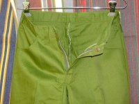 ディッキーズ DICKIES LOT998 E SHAPE/SET GREEN 50%POLYESTER 50%COTTON
