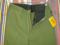 ディッキーズ DICKIES LOT10025 S DICKIES STRETCH GREEN 65%POLYESTER 35%AVRIL RAYON
