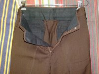 ディッキーズ DICKIES LOT10025A DICKIES STRETCH DARKBROWN 65%POLYESTER 35%AVRIL RAYON