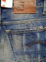 G-STAR RAW STYLE:3301 STRAIGHT NO:50128.5653.071 QLT:DALEX DENIM COLOR:MEDIUM AGED SIZE:30×34