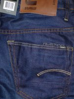 ジースターロウ セール G-STAR RAW 3301 STRAIGHT HYDRITE DENIM DK AGED