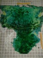 ムートン 羊皮 羊革 EMERALDGREEN エメラルドグリーン 緑|ムートン074