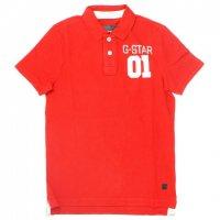 G-STAR RAW ジースターロウポロシャツ レッド 赤