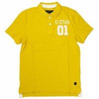 G-STAR RAW ジースターロウポロシャツ イエロー 黄