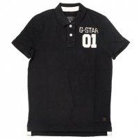 G-STAR RAW ジースターロウポロシャツ ブラック 黒