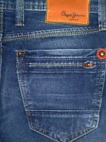 PEPE JEANS LONDON FRANKIE SLIM MEN'S JEANS DENIM STYLE NAME:FRANKIE STYLE NO:PM200007BE152 COLOR:000