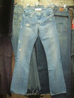 【レディースデニム クリアランス】PAPERDENIM&CLOTH VINTAGE MICHAEL MADE IN USA 100%COTTON Flare