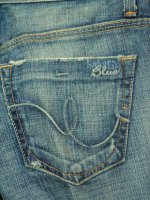 【レディースデニム クリアランス】SACRED BLUE SLIGHT FLARE JEAN MEDIUM WASH 100%COTTON