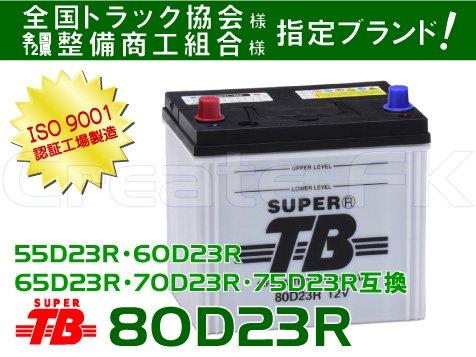 75D23R互換 80D23R SuperTB