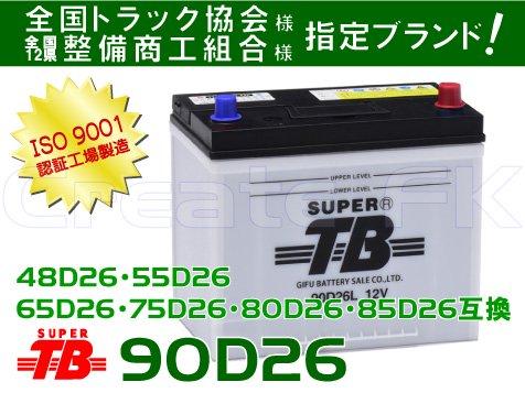 80D26互換 90D26 SuperTB