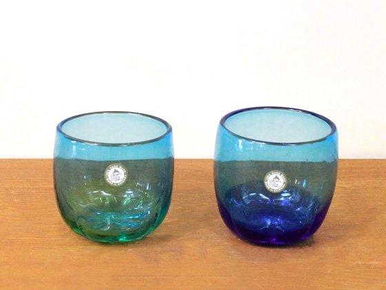 《お祝いギフト》沖縄琉球ガラス グラスサンゴ(送料500円)