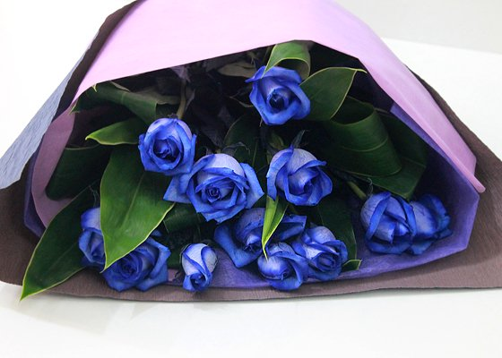 言葉 青い 薔薇 花