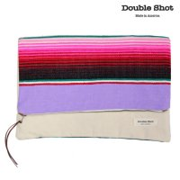 Double Shot ダブルショット クラッチバッグ LARGE HOLD CLUTCH ds0007-cl-cr