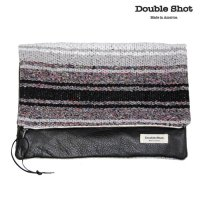 Double Shot ダブルショット クラッチバッグ LEATHERS LARGE HOLD CLUTCH ds0012-cl-mrbk