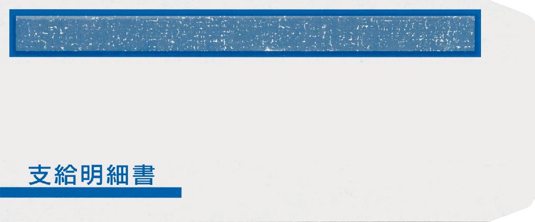 FT-1S 支給明細書窓付封筒シール付 300枚