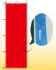 四辺三巻縫製補強(のぼり旗の周囲補強)