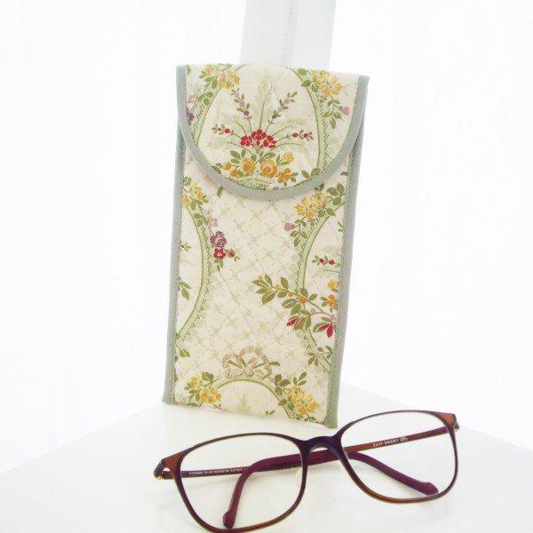 ソフト眼鏡ケース*エレガントグリーン