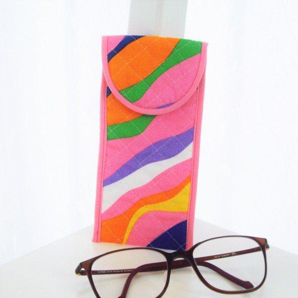 ソフト眼鏡ケース*ビビットカラー