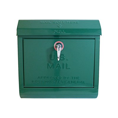 U,S, Mail box グリーン ARTWORKSTUDIO