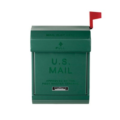 U,S, Mail box2 グリーン|ARTWORKSTUDIO