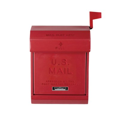 U,S, Mail box2 レッド|ARTWORKSTUDIO